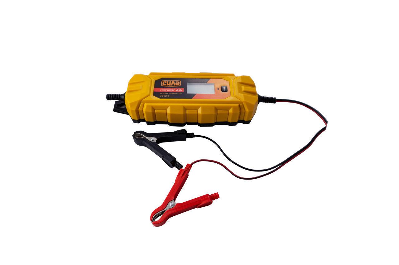 Зарядное устройство Сила - 4 А x 6 В - 12 В импульсное 2