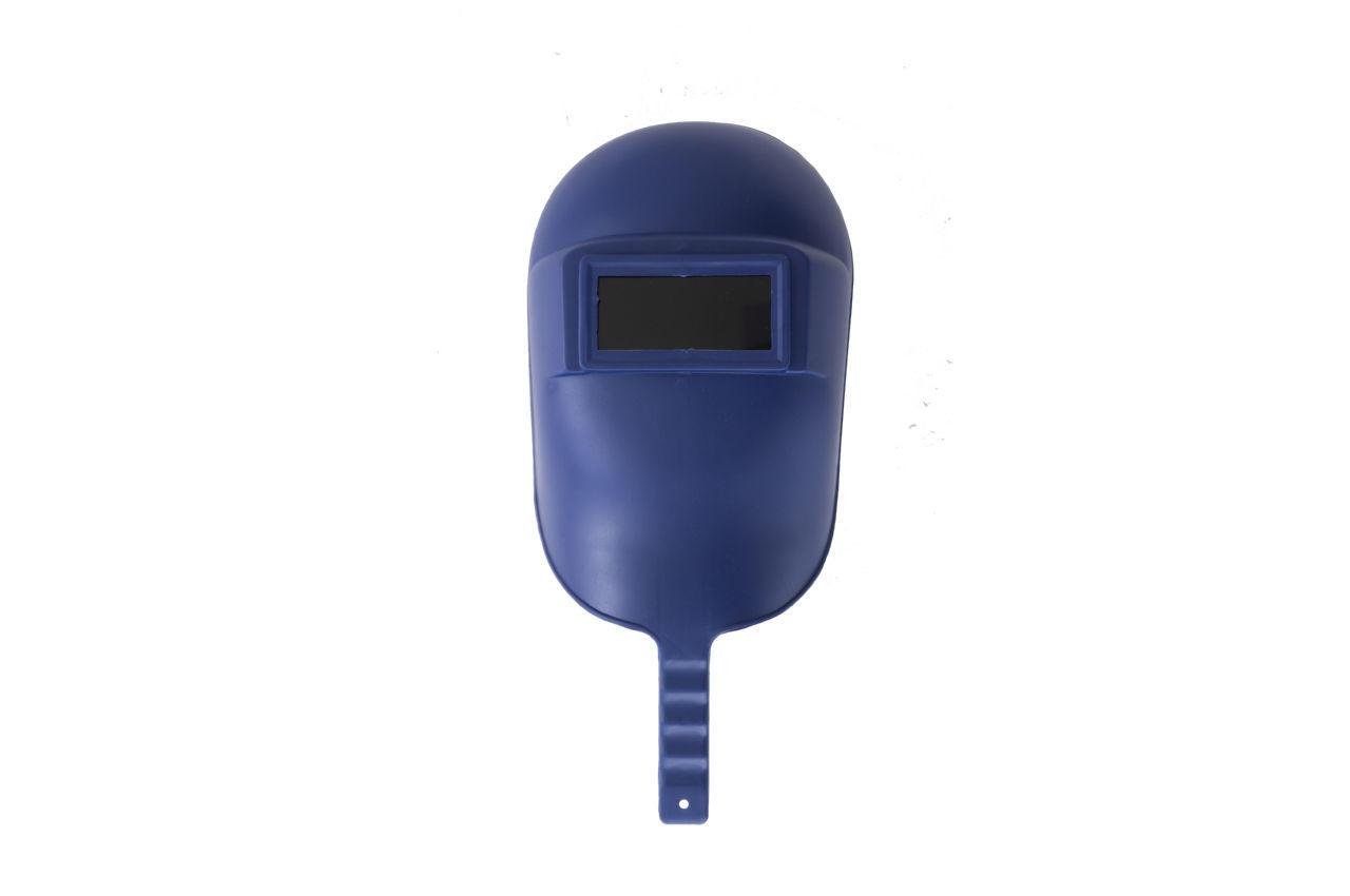 Маска сварочная Mastertool - с ручкой синяя 1
