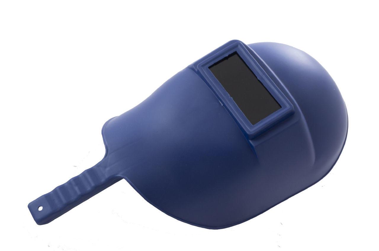 Маска сварочная Mastertool - с ручкой синяя 2