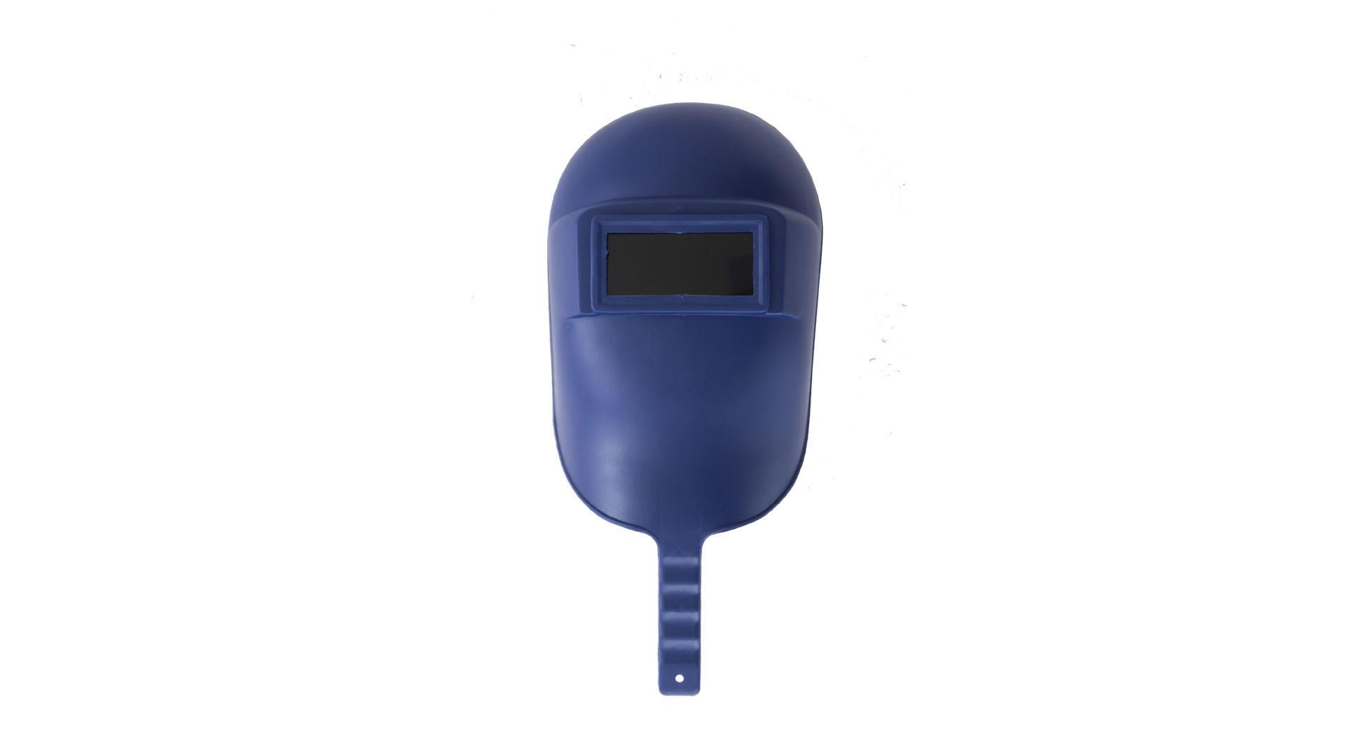 Маска сварочная Mastertool - с ручкой синяя 3