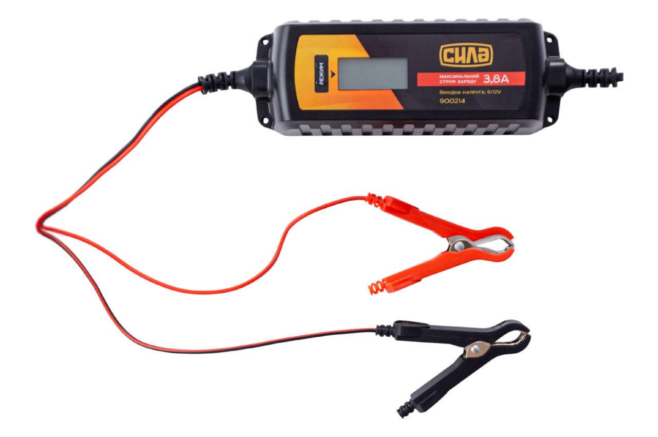 Зарядное устройство Сила - 3,8 А x 6 В-12 В импульсное 1