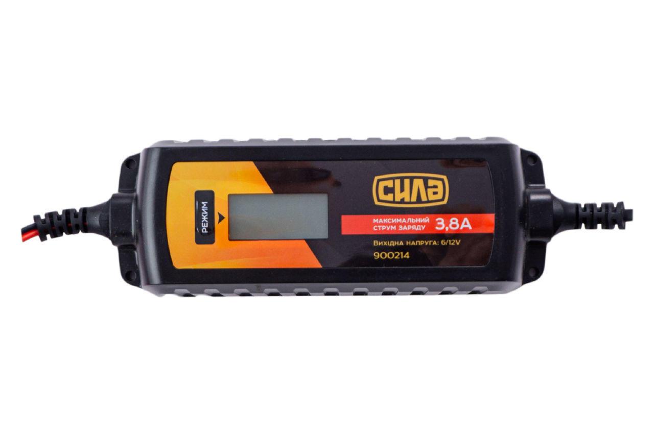 Зарядное устройство Сила - 3,8 А x 6 В-12 В импульсное 2