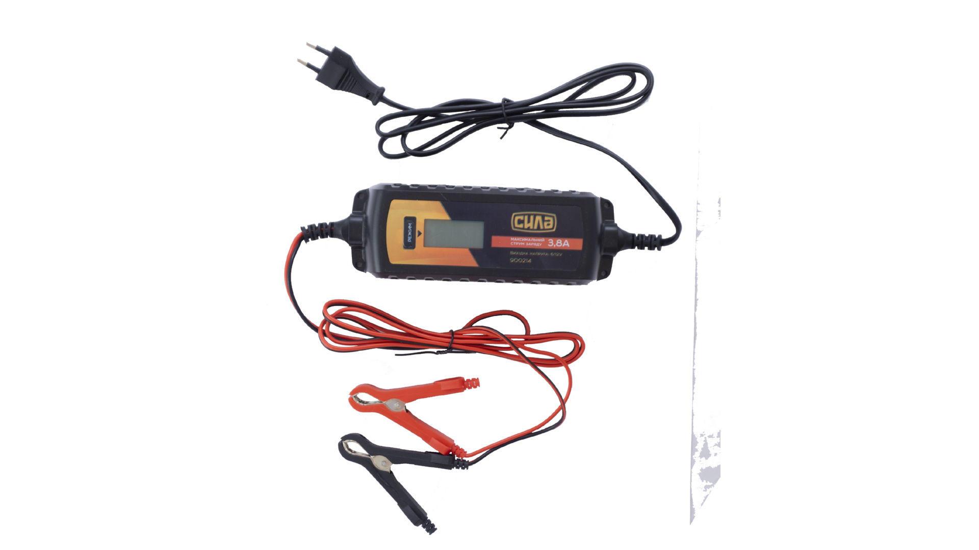Зарядное устройство Сила - 3,8 А x 6 В-12 В импульсное 5
