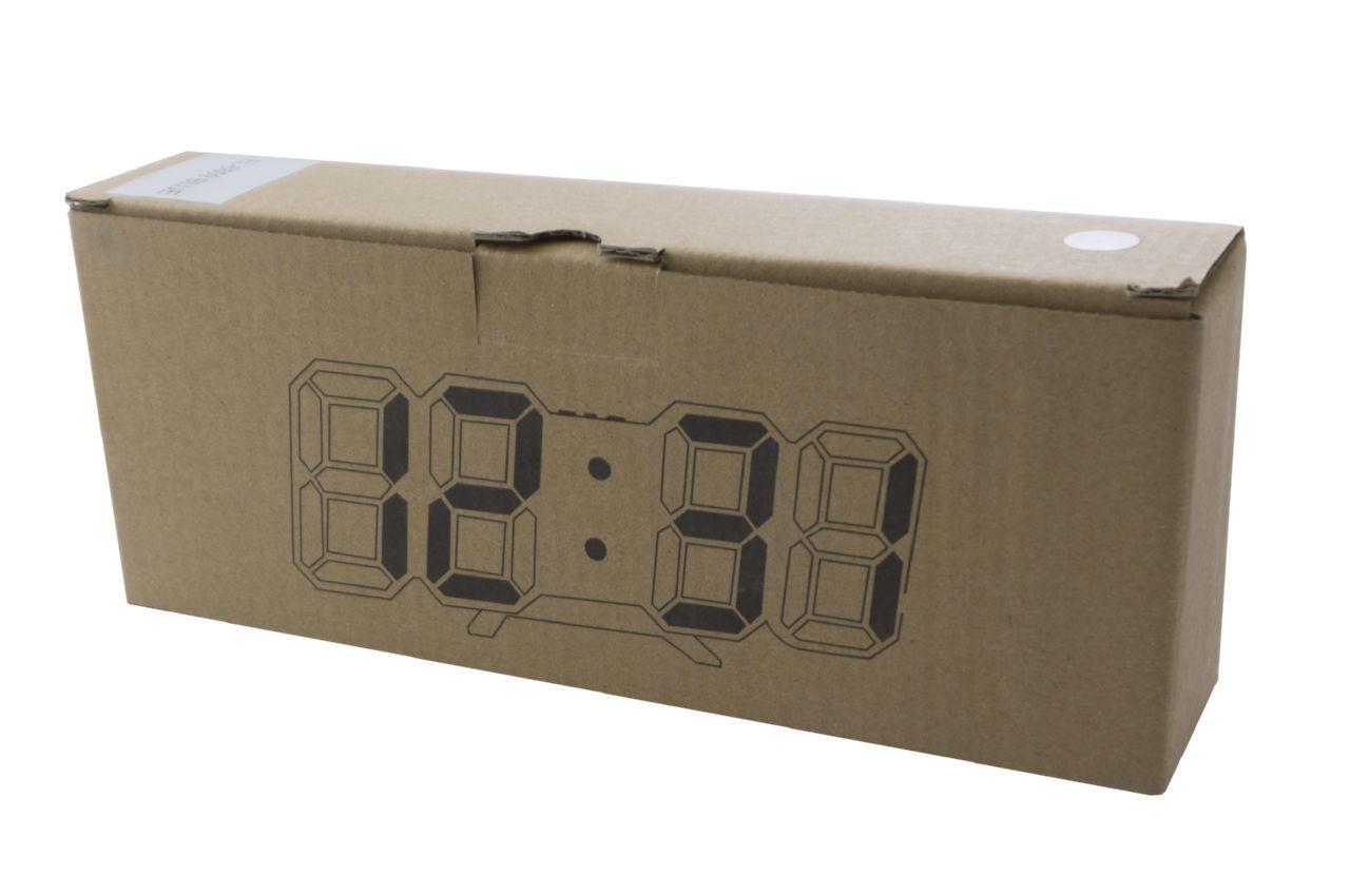 Часы настольные Elite - 6609 красные 3