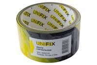 Лента сигнальная Unifix - 50 мм x 50 м желто-черная