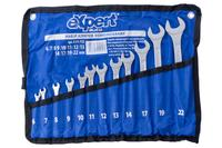 Набор рожково-накидных ключей eXpert - 12 шт. (6-22 мм) ролл