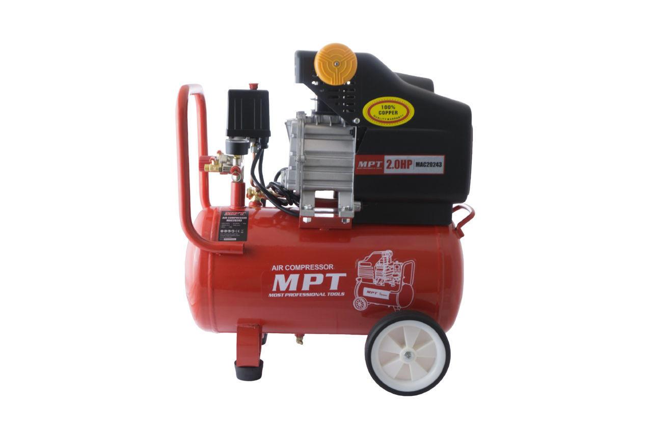 Компрессор масляный MPT - 24 л x 1500 Вт 1