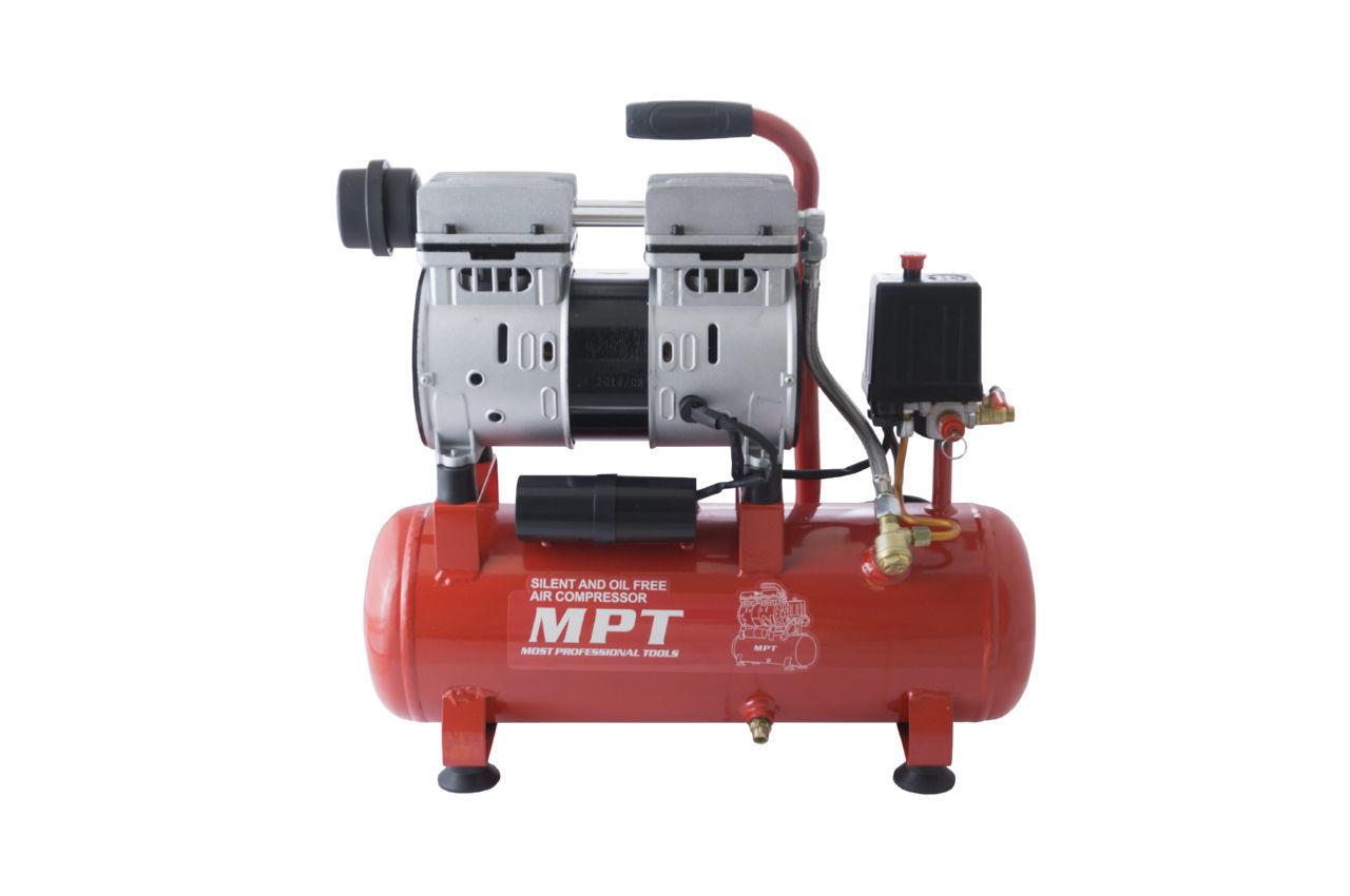 Компрессор безмасляный MPT - 10 л x 600 Вт 1