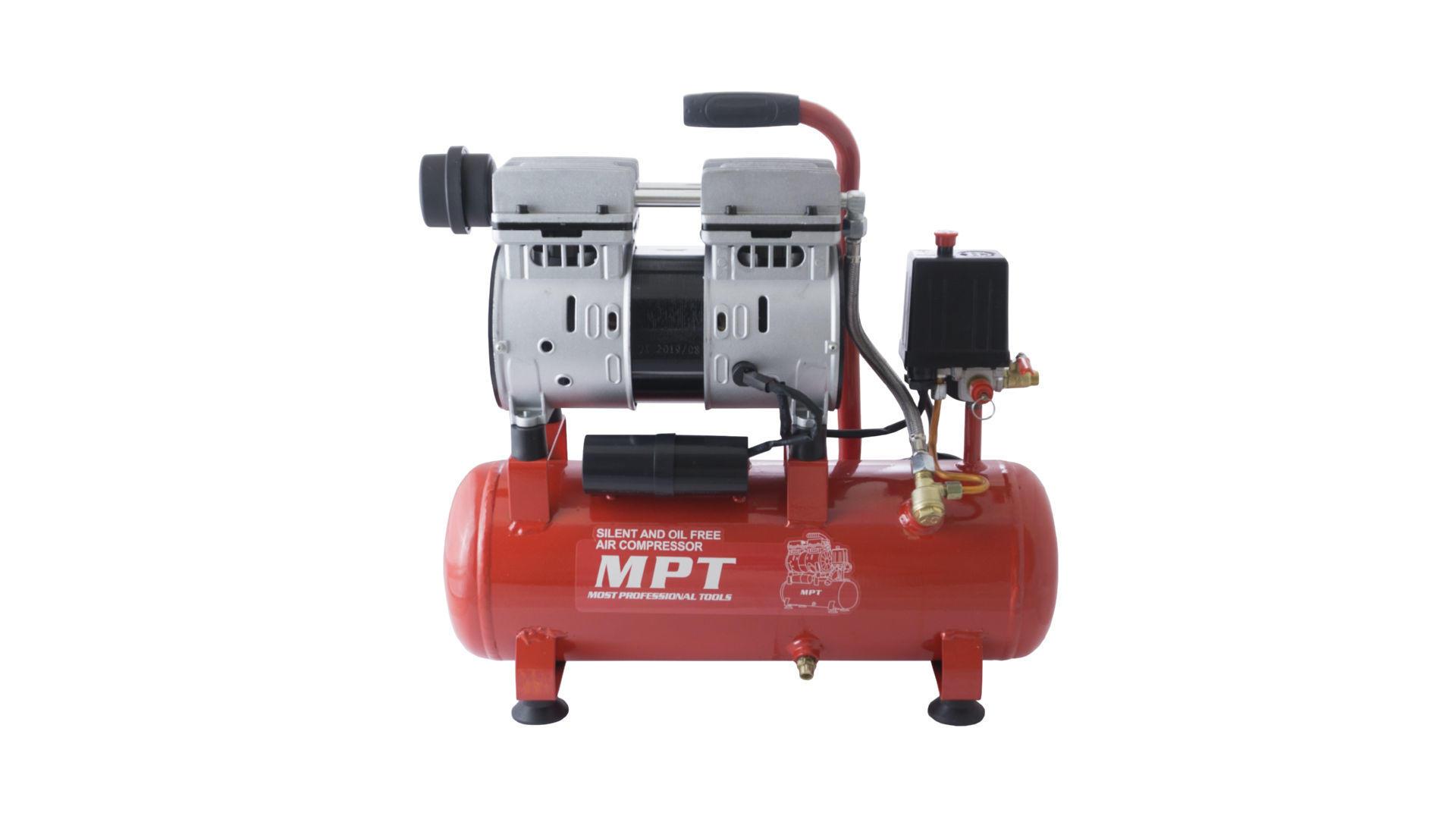 Компрессор безмасляный MPT - 10 л x 600 Вт 4
