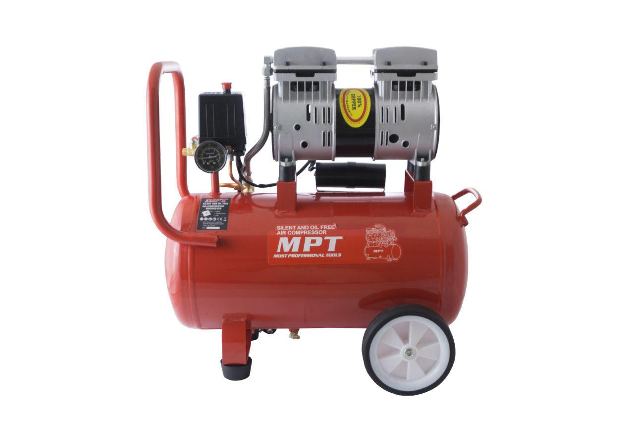Компрессор безмасляный MPT - 24 л x 800 Вт 1