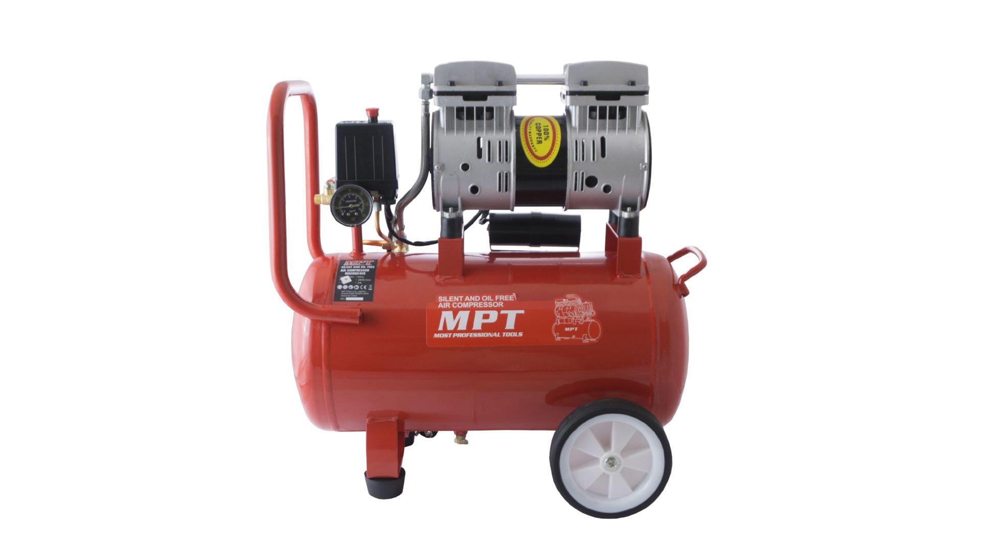 Компрессор безмасляный MPT - 24 л x 800 Вт 8