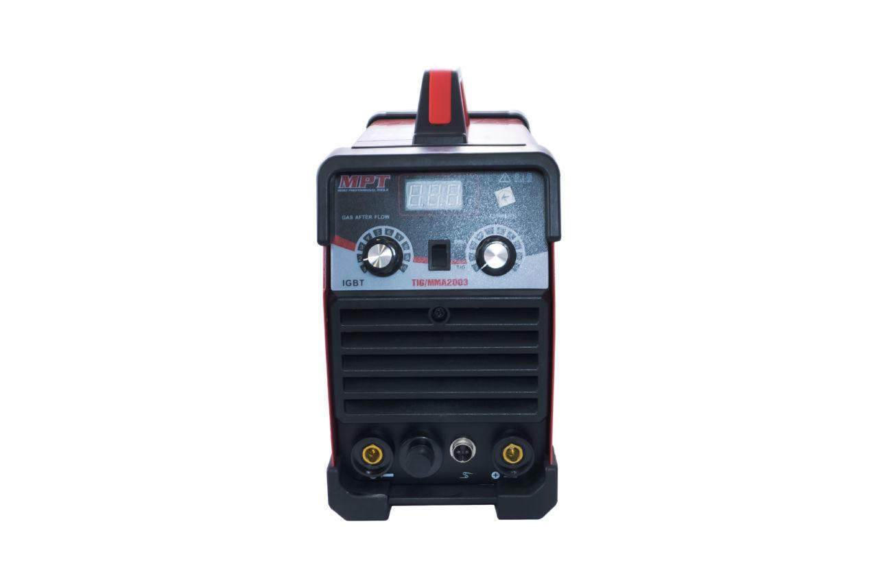 Сварочный аппарат аргонно-дуговой MPT - MMA 10-200A x TIG 10-180A 3