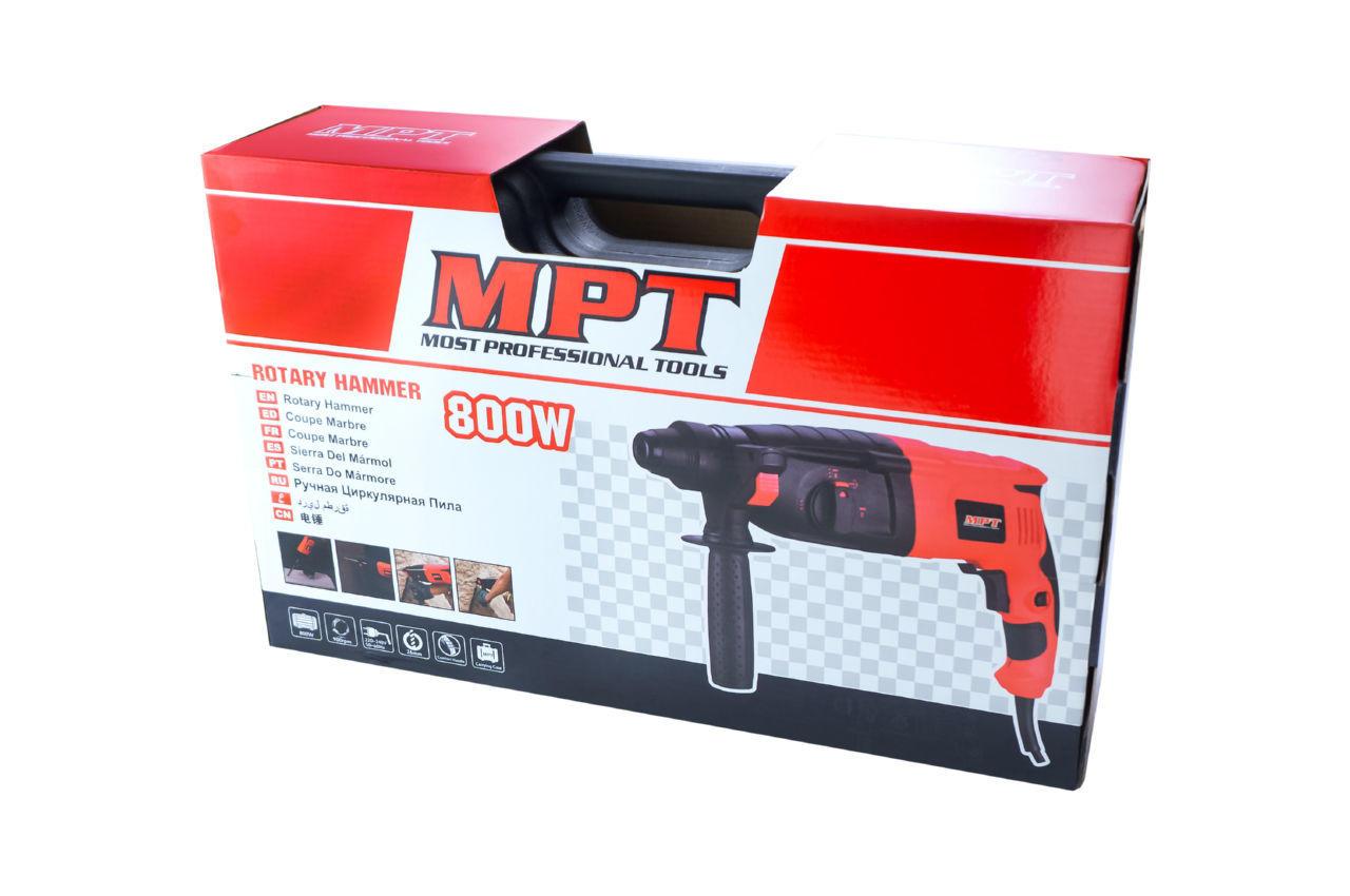 Перфоратор прямой MPT - 800 Вт 6