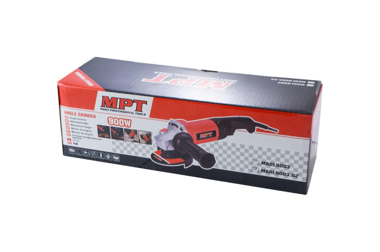 Угловая шлифмашина MPT - 850 Вт x 125 мм 4
