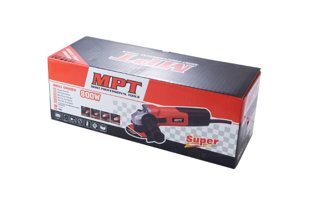 Угловая шлифмашина MPT - 900 Вт x 125 мм 4
