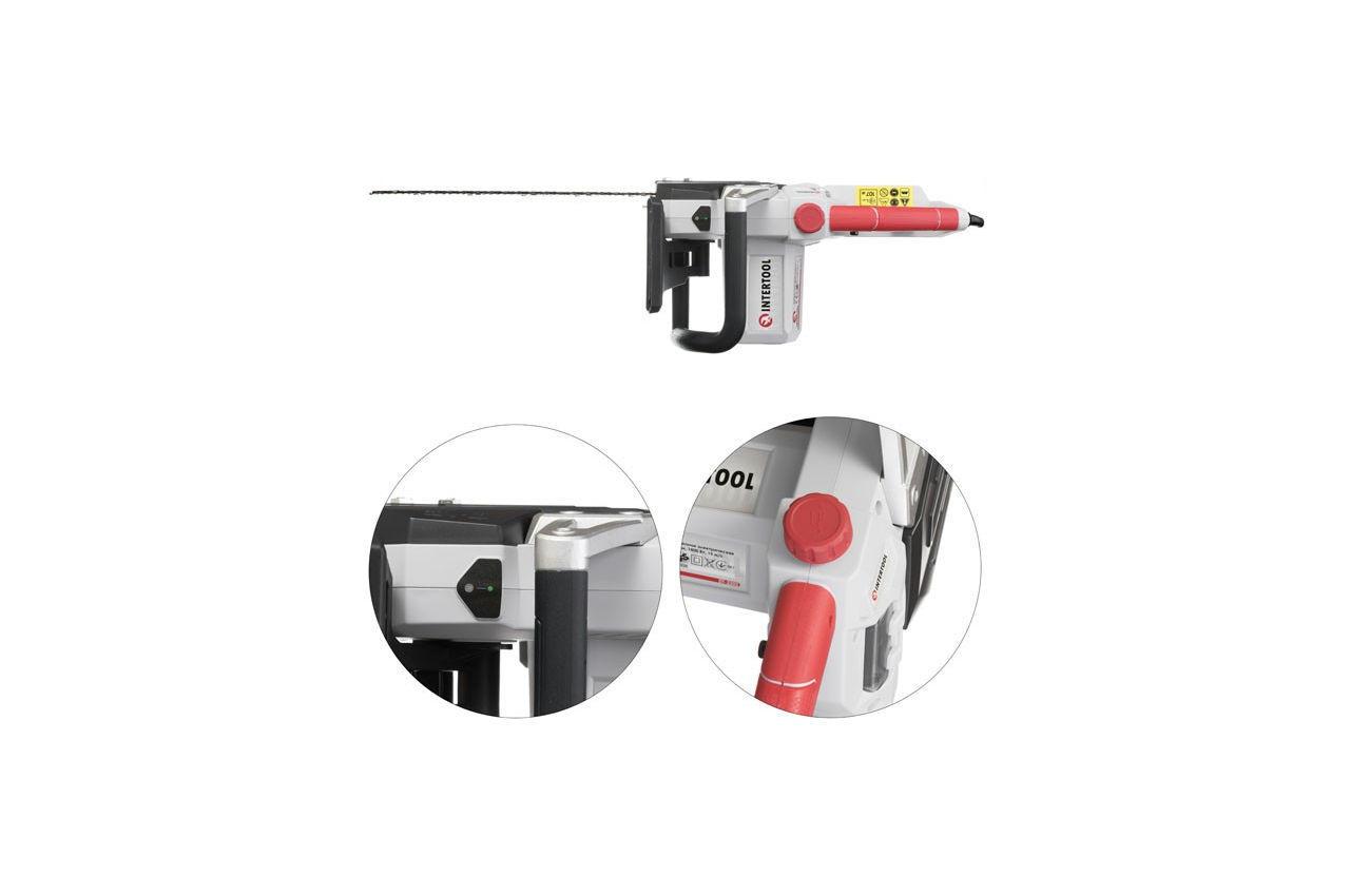 Пила цепная электрическая Intertool - 2000 Вт DT-2202 6