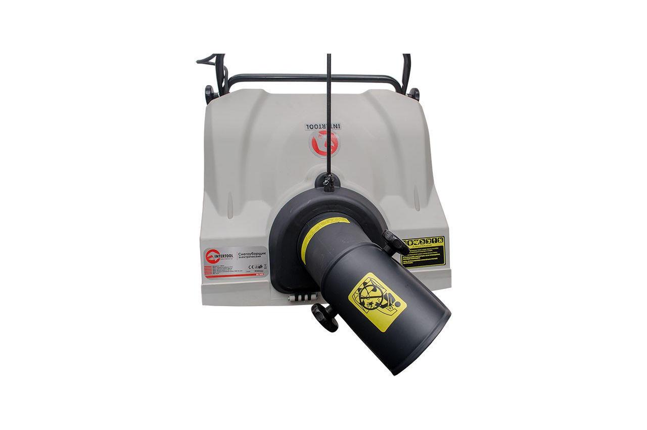 Снегоуборщик электрический Intertool - 1600 Вт 5