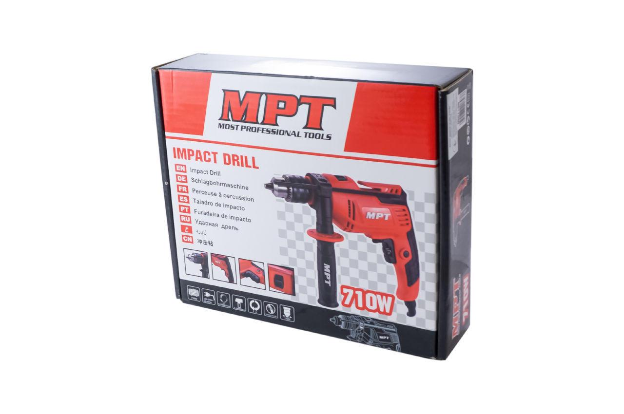 Дрель ударная MPT - 710 Вт MID7106 4