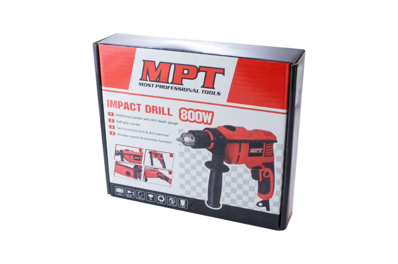 Дрель ударная MPT - 800 Вт MID8003 4