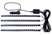 Автомобильная лента светодиодная с микрофоном Elite - 4 шт x 18LED