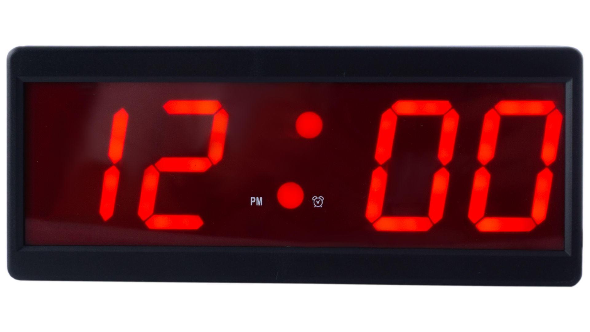 Часы настольные Caixing CX-2208-1 красные 6