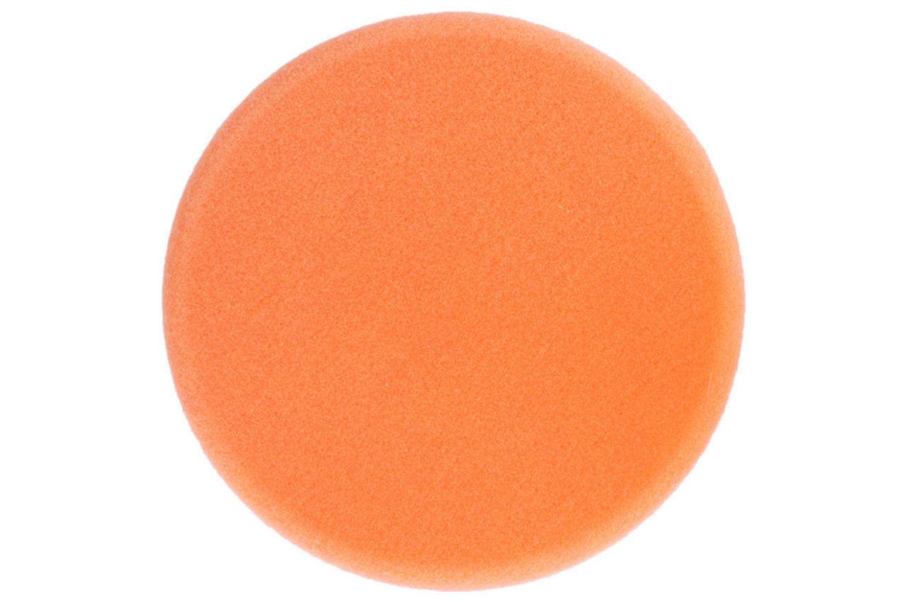 Круг полировальный поролоновый Рамболд - 150 мм x М14 оранжевый мягкий 1