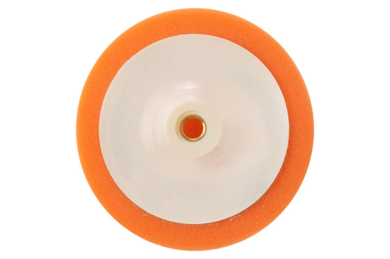 Круг полировальный поролоновый Рамболд - 150 мм x М14 оранжевый мягкий 2