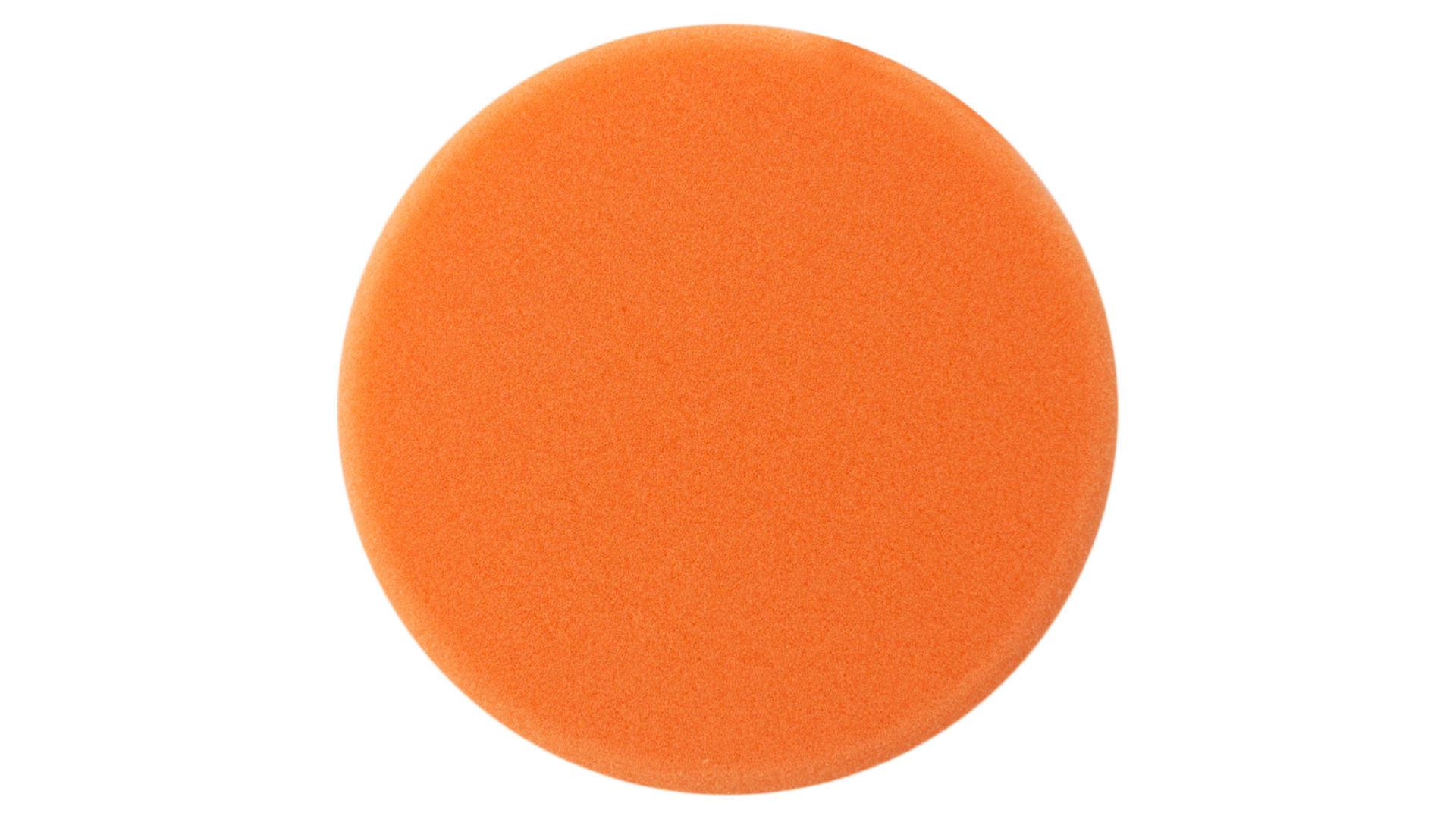 Круг полировальный поролоновый Рамболд - 150 мм x М14 оранжевый мягкий 4