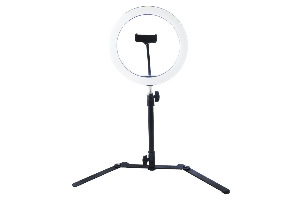 Кольцевая LED лампа со штативом Elite - 260 мм 1
