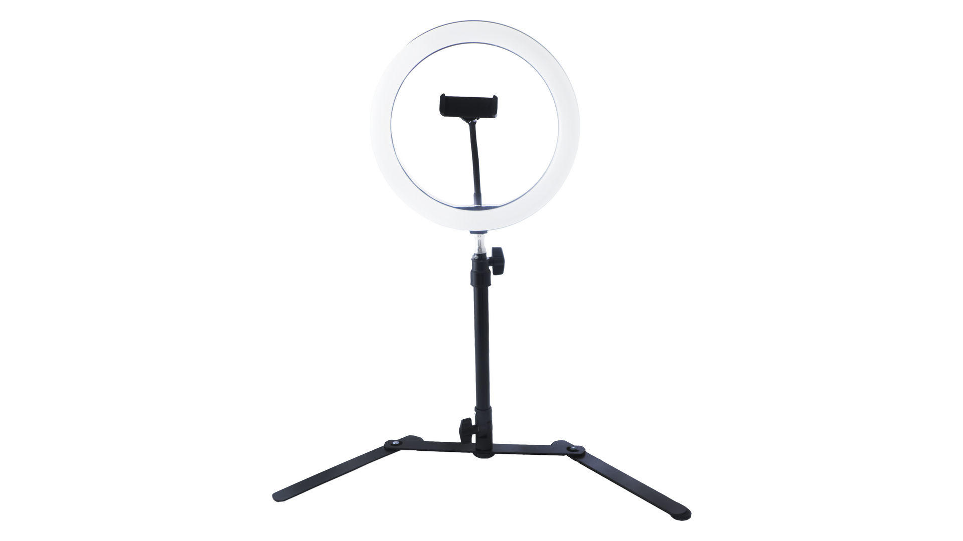 Кольцевая LED лампа со штативом Elite - 260 мм 4