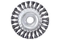Щетка дисковая Apro - 125 мм x М14 плетеная