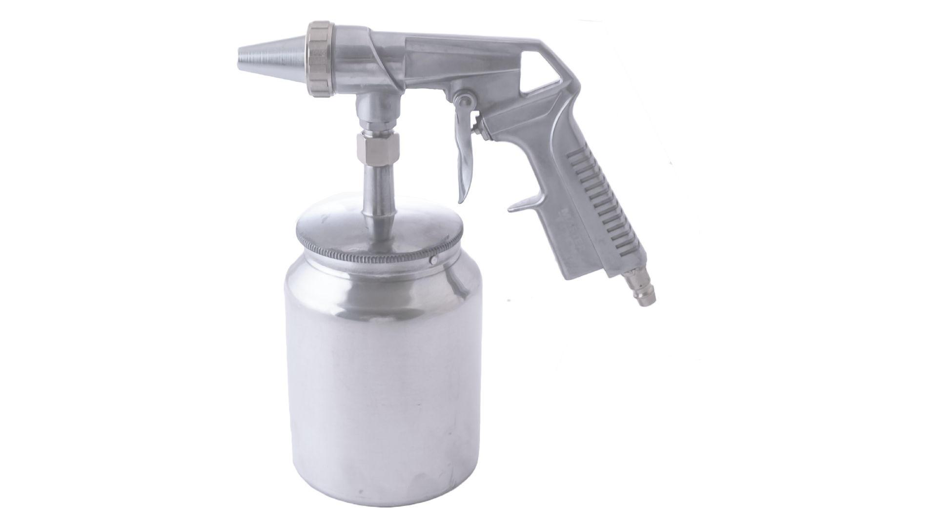 Пневмопистолет пескоструйный Mastertool - 1000 мл x 6 мм конус 5