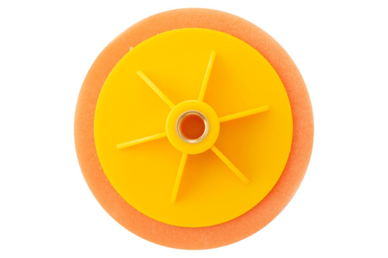 Круг полировальный поролоновый Рамболд - 125 мм x М14 оранжевый 2