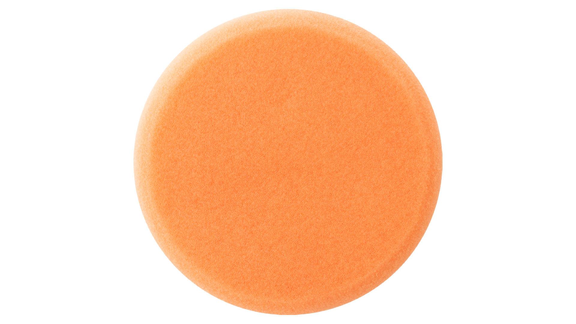 Круг полировальный поролоновый Рамболд - 125 мм x М14 оранжевый 4