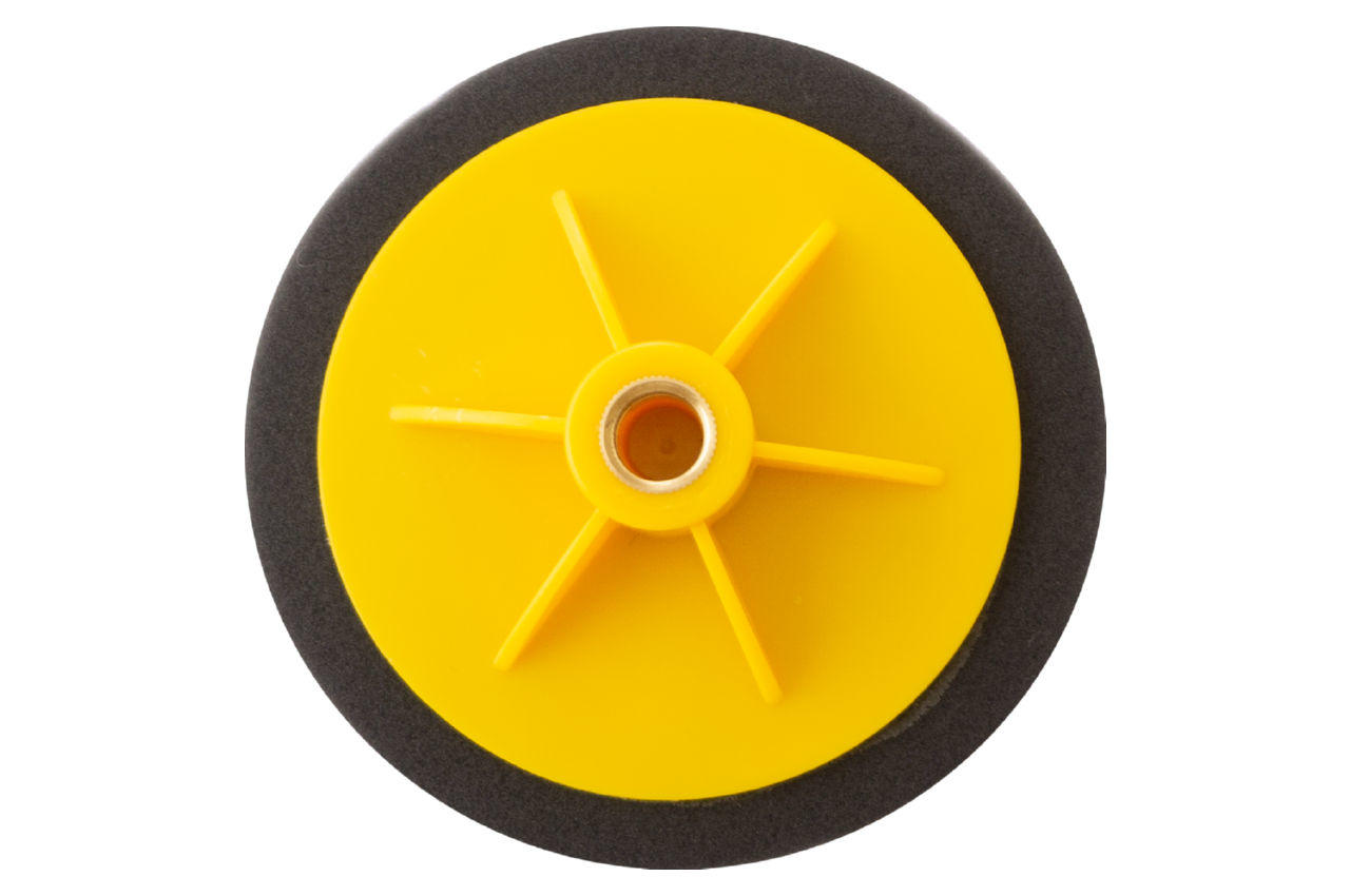Круг полировальный поролоновый Рамболд - 125 мм x М14 черный 2