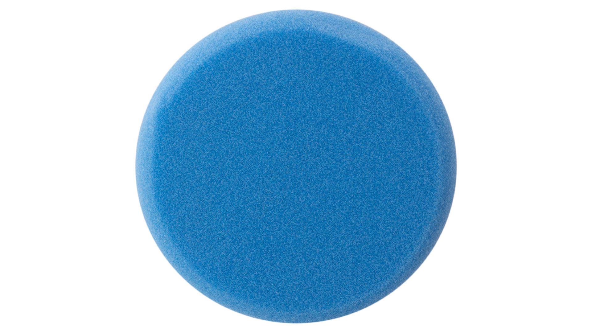 Круг полировальный поролоновый Рамболд - 125 мм x М14 синий 4