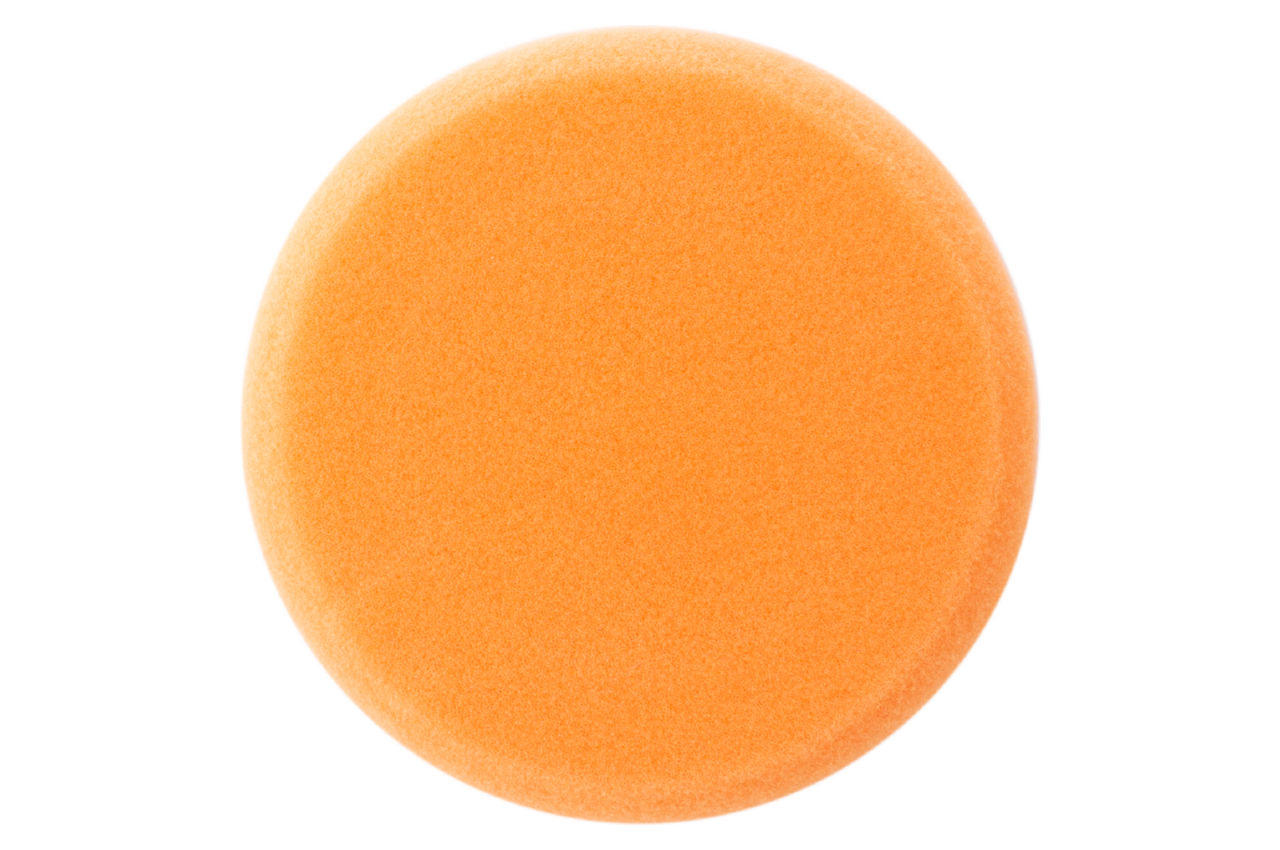 Круг полировальный поролоновый Рамболд - 125 мм x М14 оранжевый мягкий 1