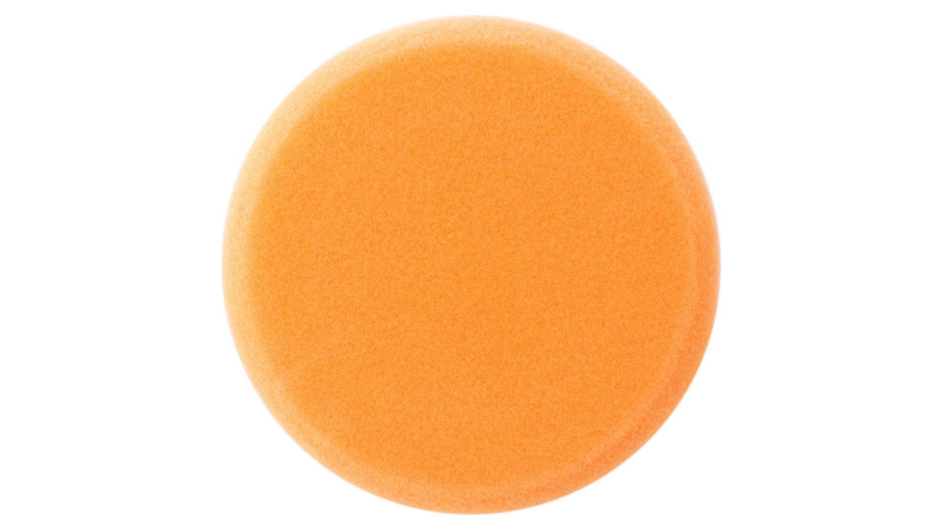 Круг полировальный поролоновый Рамболд - 125 мм x М14 оранжевый мягкий 4