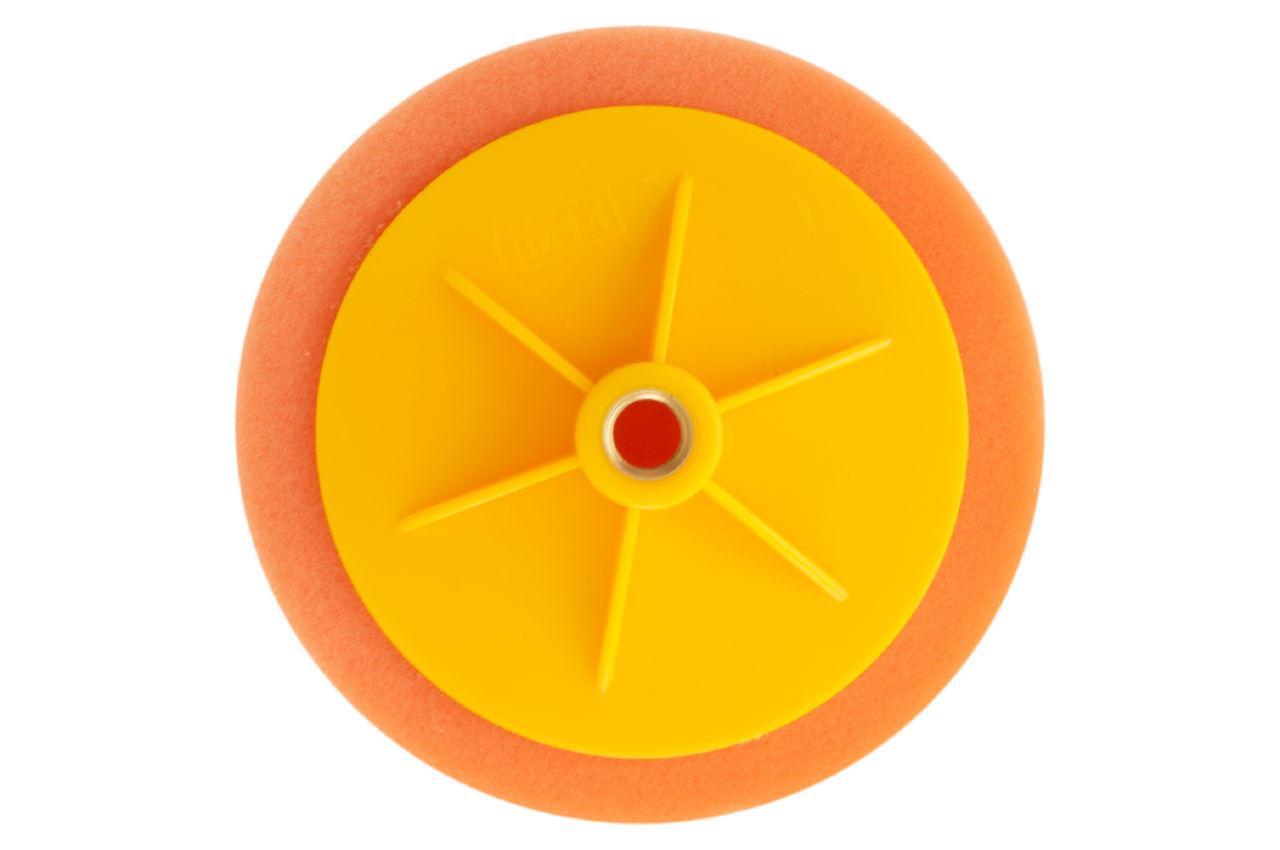 Круг полировальный поролоновый Рамболд - 150 мм x М14 оранжевый 2
