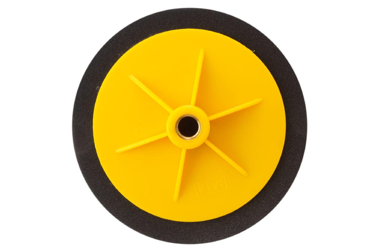 Круг полировальный поролоновый Рамболд - 150 мм x М14 черный 2