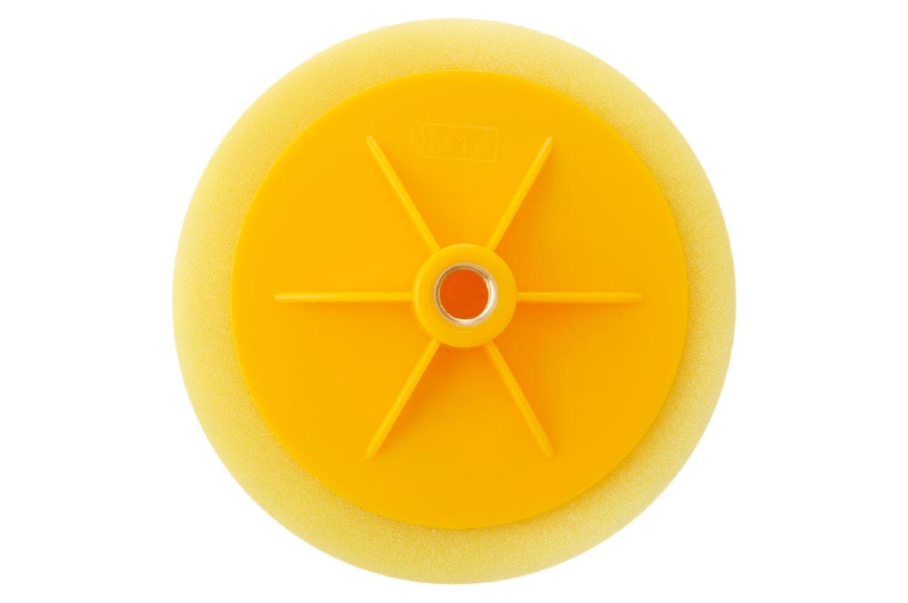 Круг полировальный поролоновый Рамболд - 150 мм x М14 желтый 2
