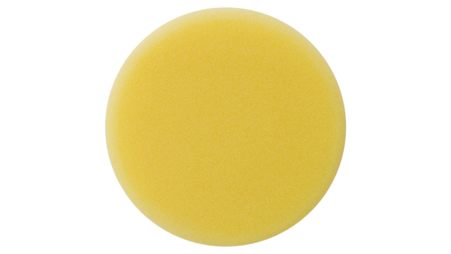 Круг полировальный поролоновый Рамболд - 150 мм x М14 желтый 4