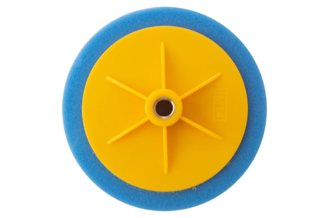 Круг полировальный поролоновый Рамболд - 150 мм x М14 синий 2