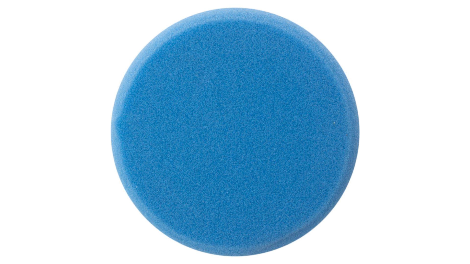 Круг полировальный поролоновый Рамболд - 150 мм x М14 синий 4