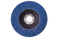 Круг лепестковый торцевой Рамболд - 125 мм x Р100 цирконий