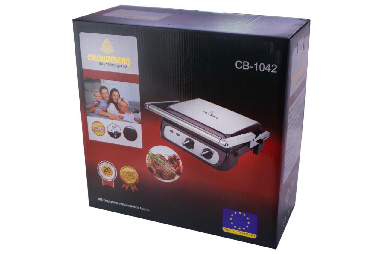 Гриль контактный Crownberg CB-1042 4