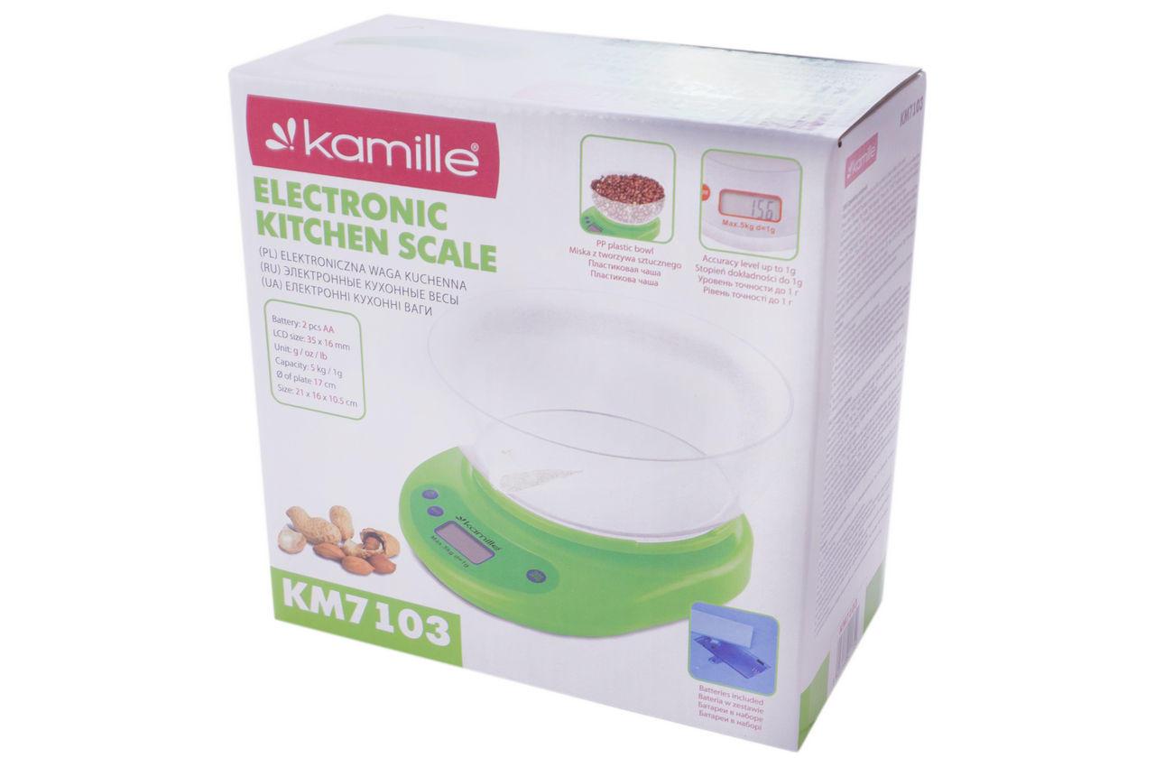 Весы кухонные Kamille - KM-7103 4