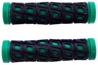 Грипсы Xazar - черно-зеленые (2 шт.)