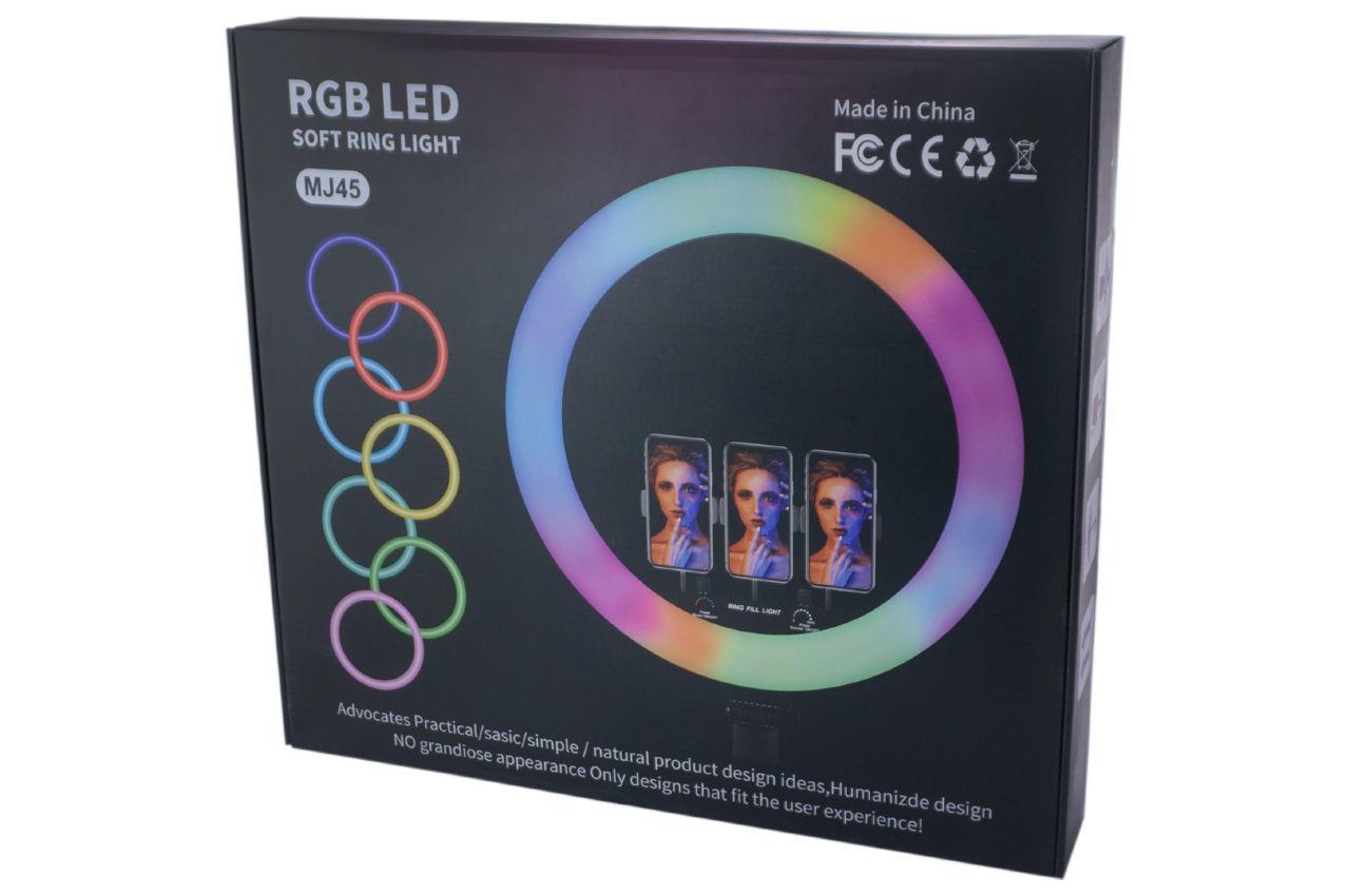 Лампа кольцевая PRC - RGB 450 мм 5