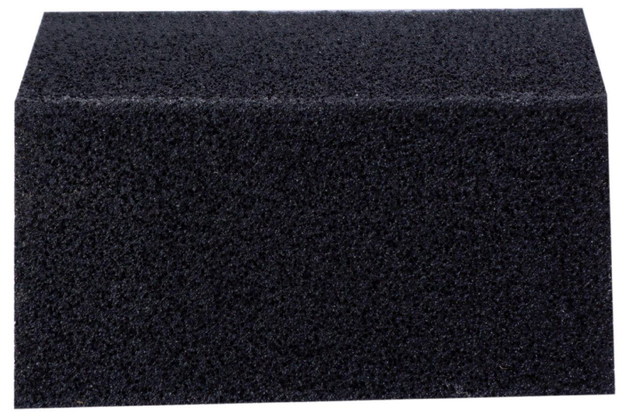 Губка шлифовальная Intertool - 110 x 75 x 25 мм x P80 трапеция 3